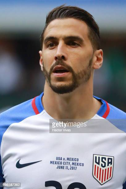 Geoff Cameron of United States during the match between Mexico and The United States as part of the FIFA 2018 World Cup Qualifiers at Azteca Stadium...