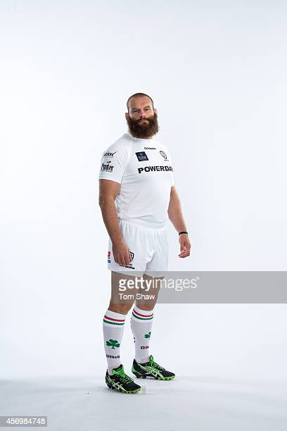 Geoff Cross of London Irish poses for a picture during the BT PhotoShoot at Sunbury Training Ground on August 27 2014 in Sunbury England