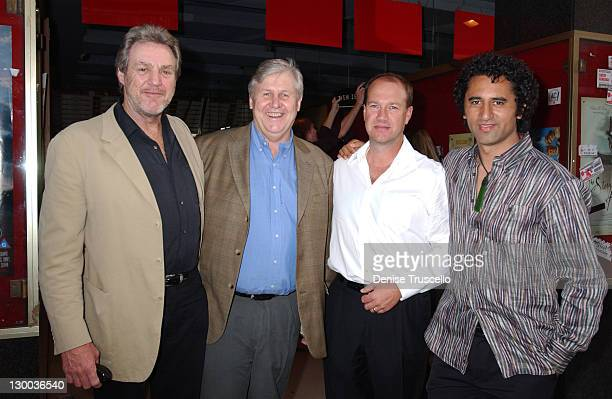 Geoff Dixon Don Reynolds and Cliff Curtis during 2004 Cannes Film Festival Spooked Screening At The New Zealand Film Commission at Star Cinema in...