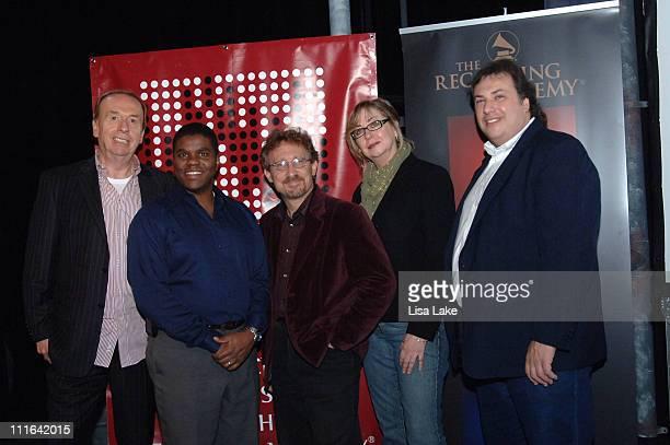 Geoff Emerick Lorne Hammond Phil Nicolo Maureen Droney and Howard Massey