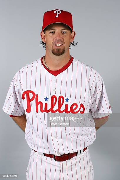 Geoff Geary of the Philadelphia Phillies poses during photo day at Bright House Networks Field on February 24 2007 in Clearwater Florida