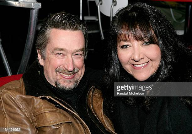 Geoff Gilmore and Doreen Ringer Ross during 2007 Sundance Film Festival BMI Song Writers Snowball at Sundance House in Park City Utah United States