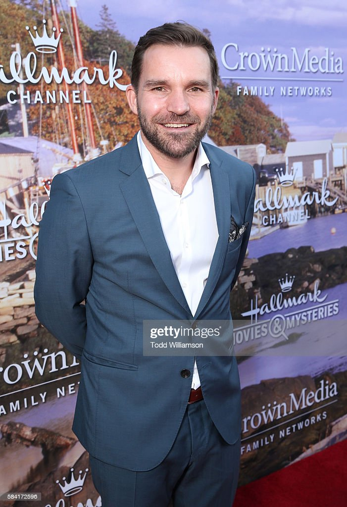 Hallmark Channel And Hallmark Movies And Mysteries Summer 2016 TCA Press Tour Event - Red Carpet : News Photo
