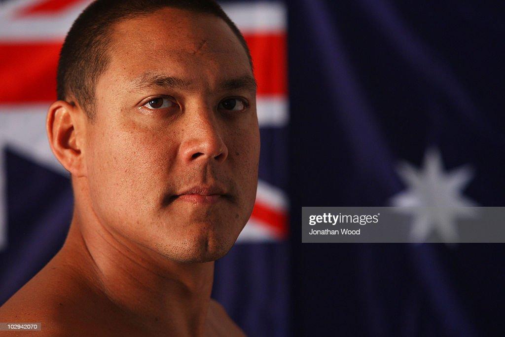 Australian Swim Team Portraits