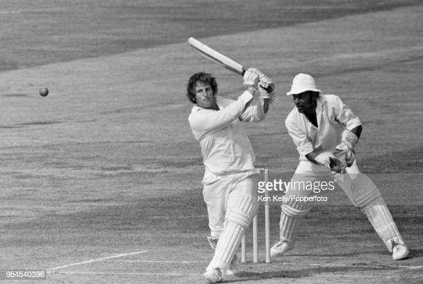 Geoff Humpage batting for Warwickshire during his innings of 45 not out in the Gillette Cup Semi Final between Warwickshire and Lancashire at...