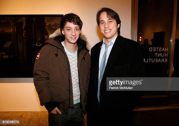 Geoff Johnston and Steve Brown attend ERWIN OLAF Opening Reception at Hasted Hunt Kraeutler on January 28 2010 in New York