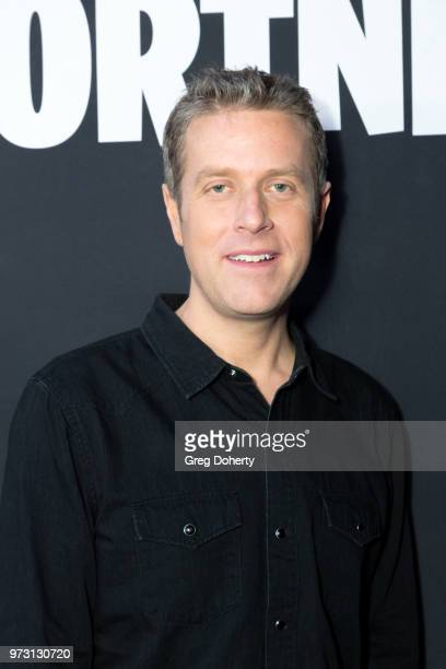 Geoff Keighley attends the Epic Games Hosts Fortnite Party Royale on June 12 2018 in Los Angeles California