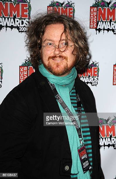 Geoff Lloyd attends the Shockwaves NME Awards at O2 Academy Brixton on February 25 2009 in London England
