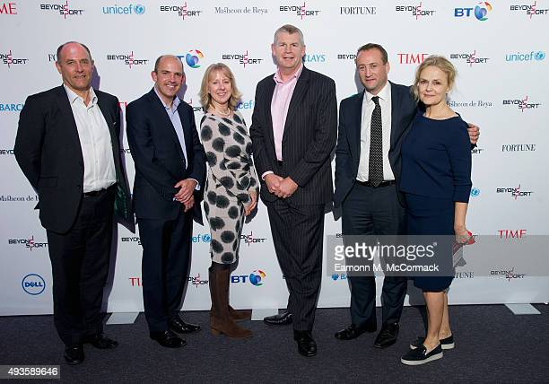 Geoff McDonald Jonathan Garrett Paulette Cohen Tim Griffin Rupert Turnbull and Kate Robertson attend the Beyond Sport Summit on October 21 2015 in...