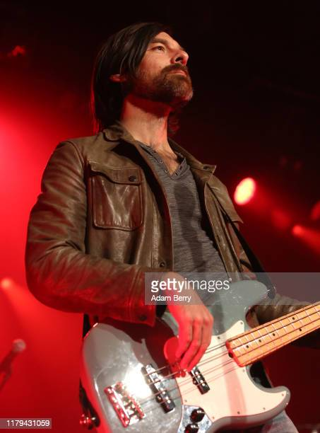 Geoff Sprung of Old Dominion performs during a concert at Astra Kulturhaus on October 06 2019 in Berlin Germany