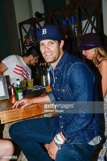 Geoff Stults at Soho Desert House on April 12, 2015 in La Quinta, California.