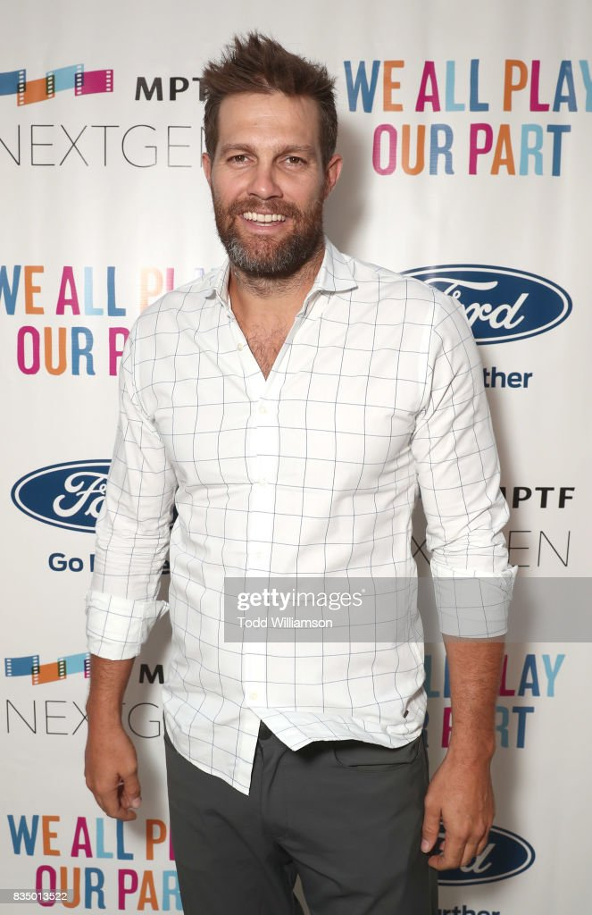 Geoff Stults attends MPTF's NextGen Summer Party at NeueHouse Hollywood on August 17, 2017 in Los Angeles, California.