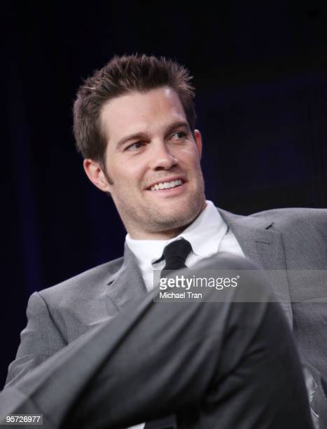 Geoff Stults attends the ABC and Disney Winter Press Tour held at The Langham Resort on January 12 2010 in Pasadena California