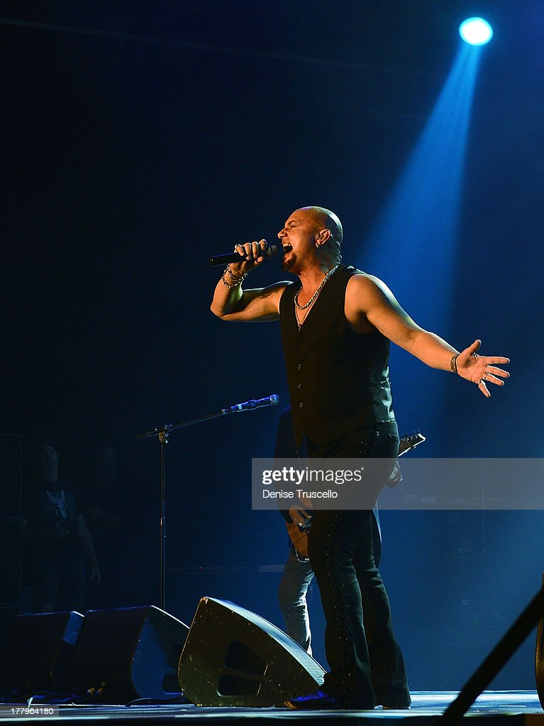Geoff Tate during the fourth annual Vegas Rocks! Magazine Music Awards at the Hard Rock Hotel and Casino on August 25, 2013 in Las Vegas, Nevada.