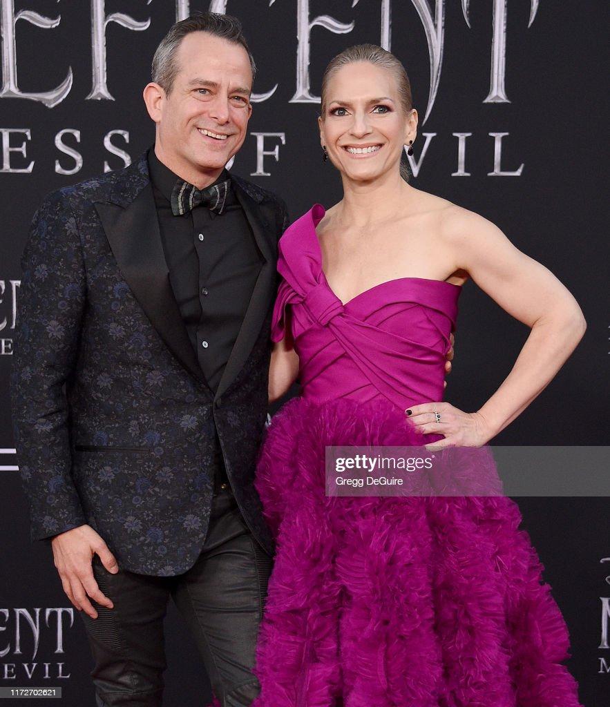 Geoff Zanelli And Jennifer Jardine Arrive At The World