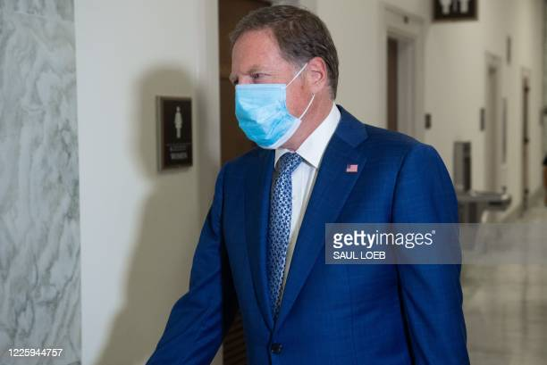 Geoffrey Berman former US Attorney for the Southern District of New York arrives for a closed transcribed interview with the House Judiciary...