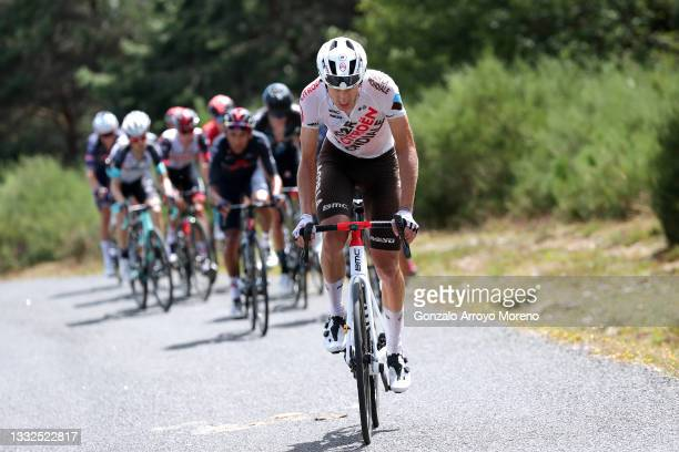 Geoffrey Bouchard of France and AG2R Citröen Team during the 43rd Vuelta a Burgos 2021, Stage 3 a 173km stage from Busto de Bureba to Espinosa de los...