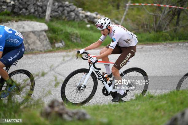 Geoffrey Bouchard of France and AG2R Citröen Team in breakaway during the 104th Giro d'Italia 2021, Stage 9 a 158km stage from Castel di Sangro to...