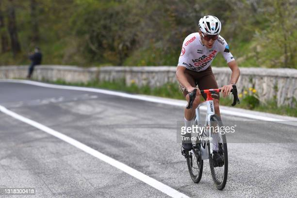 Geoffrey Bouchard of France and AG2R Citröen Team in the Breakaway during the 104th Giro d'Italia 2021, Stage 9 a 158km stage from Castel di Sangro...