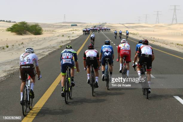 Geoffrey Bouchard of France and AG2R Citroën, Jan Hirt of Czech Republic and Team Intermarché-Wanty-Gobert Matériaux, Rafal Majka of Poland and UAE...