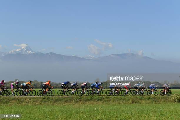 Geoffrey Bouchard of France and Team Ag2R La Mondiale / Andrea Vendrame of Italy and Team Ag2R La Mondiale / Jan Tratnik of Slovenia and Team Bahrain...