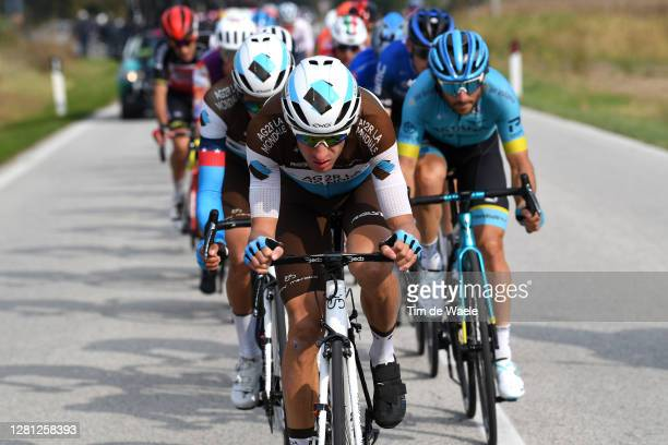 Geoffrey Bouchard of France and Team Ag2R La Mondiale / Breakaway / during the 103rd Giro d'Italia 2020, Stage 16 a 229km stage from Udine to San...