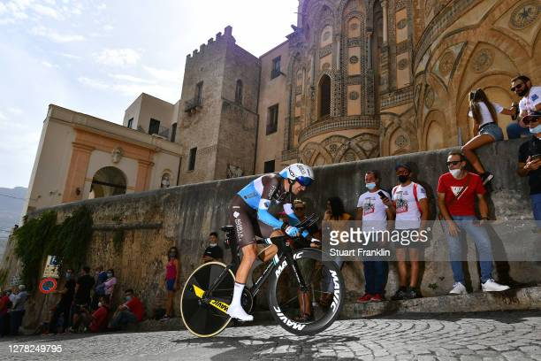 Geoffrey Bouchard of France and Team Ag2R La Mondiale / Duomo di Monreale / Monte Caputo / Cathedral / during the 103rd Giro d'Italia 2020, Stage 1 a...
