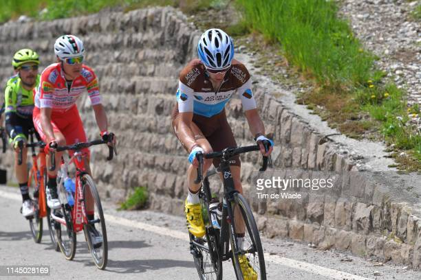 Geoffrey Bouchard of France and Team AG2R La Mondiale / during the 43rd Tour of the Alps 2019, Stage 4 a 134km stage to Baselga di Piné to Viale De...