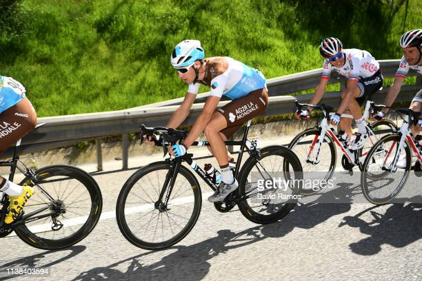 Geoffrey Bouchard of France and Team AG2R La Mondiale / during the 99th Volta Ciclista a Catalunya 2019, Stage 2 a 166,7km stage from Mataró to Sant...