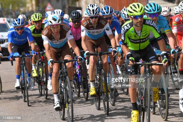 Geoffrey Bouchard of France and Team AG2R La Mondiale / François Bidard of France and Team AG2R La Mondiale / during the 43rd Tour of the Alps 2019,...