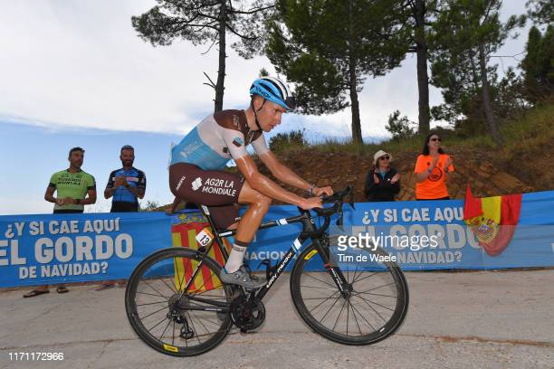 Geoffrey Bouchard of France and Team AG2R La Mondiale / Mas de La Costa / during the 74th Tour of Spain 2019, Stage 7 a 179,1km stage from Onda to...