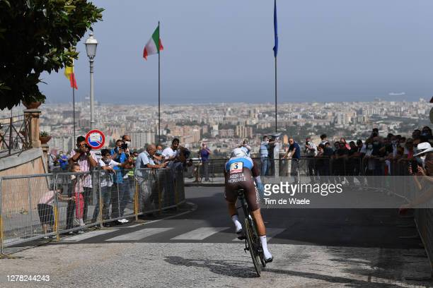 Geoffrey Bouchard of France and Team Ag2R La Mondiale / Palermo City / Public / Fans / Landscape / during the 103rd Giro d'Italia 2020, Stage 1 a...