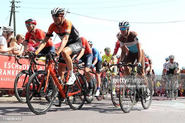 Geoffrey Bouchard of France and Team AG2R La Mondiale / Peloton / during the 58th Rund um den Finanzplatz Eschborn-Frankfurt 2019 a 187,5km race from...