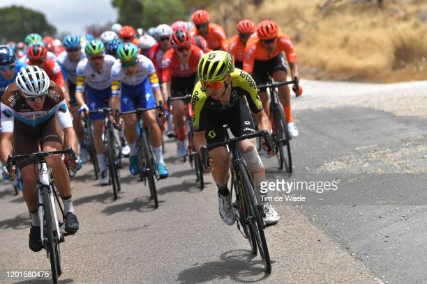 Geoffrey Bouchard of France and Team AG2R La Mondiale / Simon Yates of United Kingdom and Team Mitchelton-SCOTT / during the 22nd Santos Tour Down...