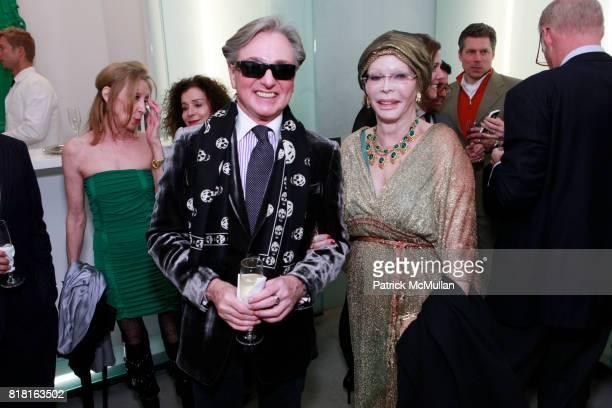Geoffrey Bradfield and Monique van Vooren attend GEOFFREY BRADFIELD'S 'THE QUICK AND THE DEAD' Opening at Sebastian Barquet Gallery on November 1st...