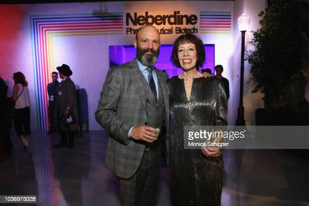 Geoffrey Cantor and Allyce Beasley attend the Netflix Original Series 'Maniac' New York Premiere Screening and After Party at Center 415 on September...