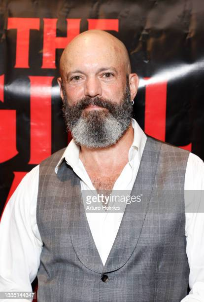 Geoffrey Cantor attends The Girl Who Got Away Film Premiere at AMC Theater on August 19, 2021 in New York City.