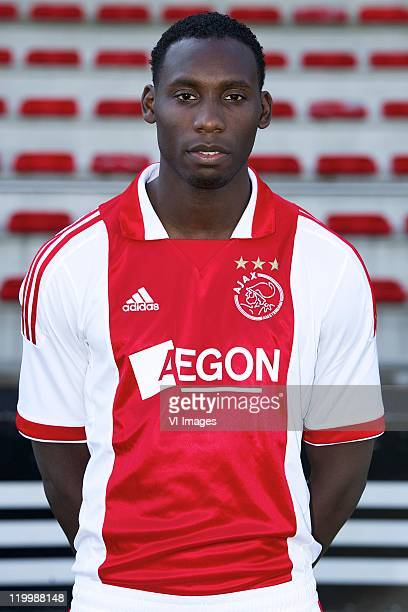Geoffrey Castillion of Ajax poses during a photo call held at the Amsterdam Arena on July 25 2011 in Amsterdam Netherlands