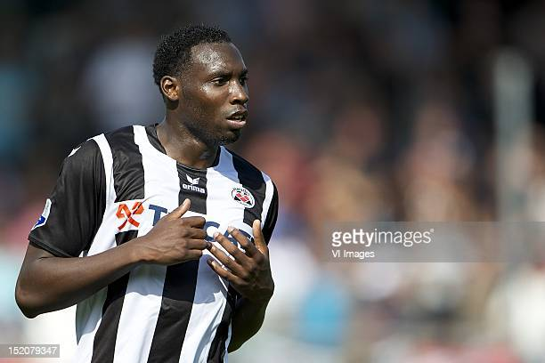 Geoffrey Castillion of Heracles Almelo during the Dutch Eredisivie match between Heracles Almelo and NAC Breda at the Polman Stadium on September 16...