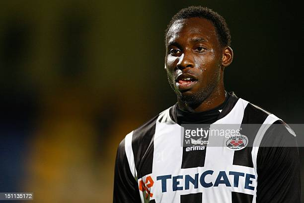 Geoffrey Castillion of Heracles Almelo during the Dutch Eredivisie match between RKC Waalwijk and Heracles Almelo at the Mandemakers Stadium on...
