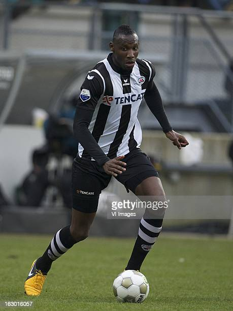 Geoffrey Castillion of Heracles Almelo during the Dutch Eredivisie match between ADO Den Haag and Heracles Almelo at the Kyocera Stadium on march 03...