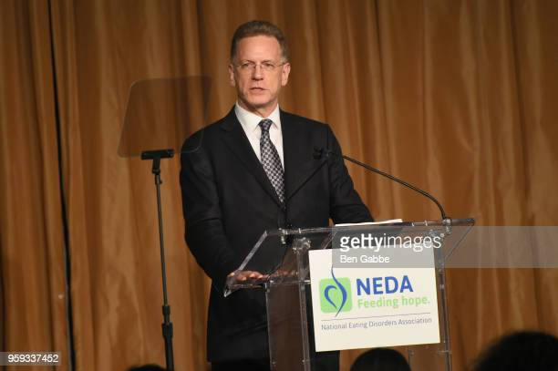 Geoffrey Craddock speaks onstage during the National Eating Disorders Association Annual Gala 2018 at The Pierre Hotel on May 16 2018 in New York City