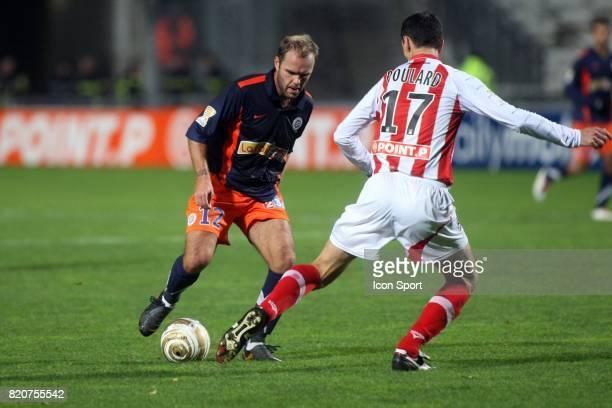 Geoffrey DERNIS Montpellier / AC Ajaccio Huitiemes de finale de la Coupe de la Ligue