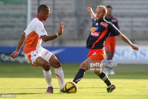 Geoffrey DERNIS / Alaixys ROMAO Montpellier / Lorient 35e journee Ligue 1