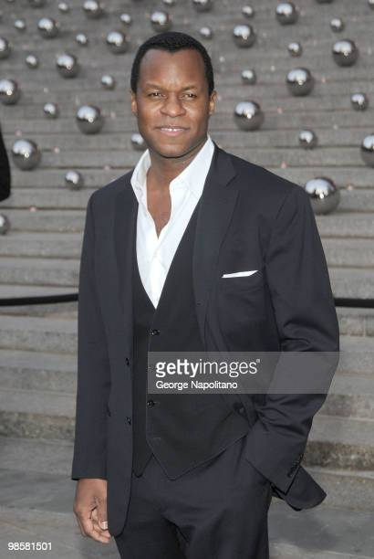 Geoffrey Fletcher arrives at New York State Supreme Court for the Vanity Fair Party during the 2010 Tribeca Film Festival on April 20 2010 in New...