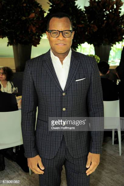 Geoffrey Fletcher attends Universal Pictures' 'Get Out' Peggy Siegel Luncheon at Lincoln Ristorante on November 15 2017 in New York City