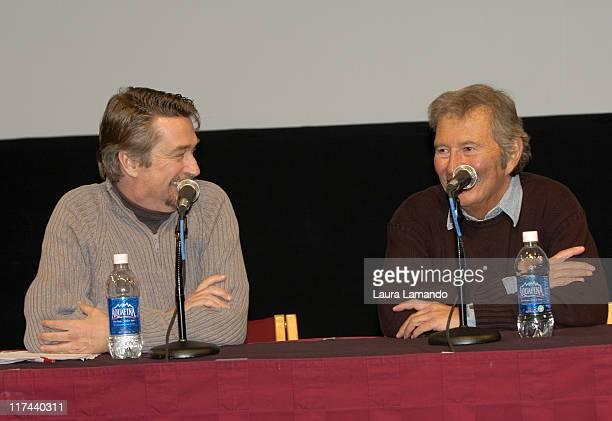 Geoffrey Gilmore director of Sundance Film Festival and Bob Shaye