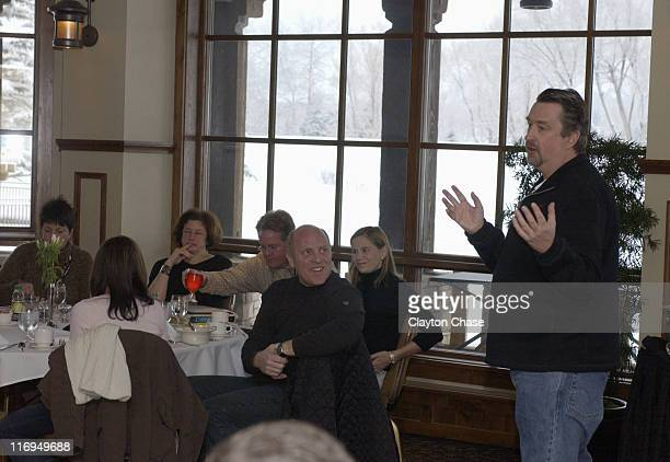 Geoffrey Gilmore during 2005 Sundance Film Festival Amex Breakfast with Geoffrey Gilmore at Summit Watch Marriot in Park City Utah United States