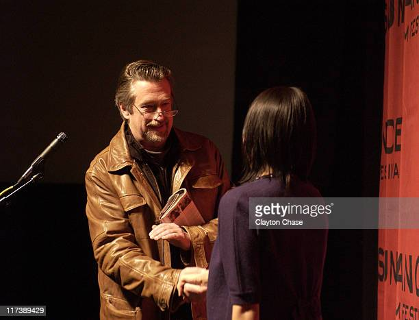"""Geoffrey Gilmore during 2007 Sundance Film Festival - """"Never Forever"""" Premiere at Racquet Club in Park City, Utah, United States."""