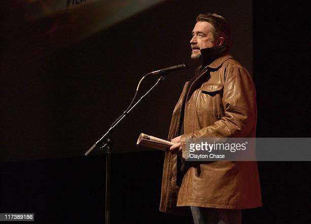 Geoffrey Gilmore during 2007 Sundance Film Festival On the Road with Judas Premiere at Racquette Club in Park City Utah United States